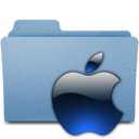 128x128px size png icon of apple3