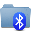 128x128px size png icon of bluetooh2