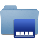 128x128px size png icon of dockfolder