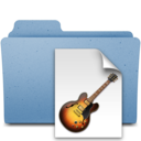 128x128px size png icon of garageband projects
