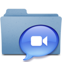 128x128px size png icon of ichat