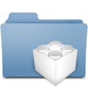 128x128px size png icon of kexts