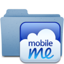 128x128px size png icon of mobileme