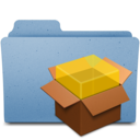 128x128px size png icon of package