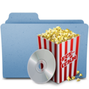 128x128px size png icon of popcorn