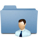 128x128px size png icon of user