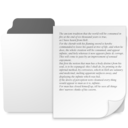 128x128px size png icon of minimal documents folder