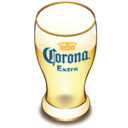 128x128px size png icon of Corona beer glass