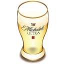 128x128px size png icon of Michelob beer glass