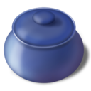 128x128px size png icon of Sugar bowl closed
