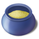 128x128px size png icon of Sugar bowl filled