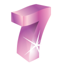 128x128px size png icon of Lucky 7
