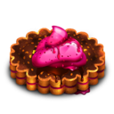 128x128px size png icon of Berry Tart