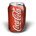 128x128px size png icon of Coke