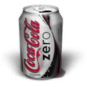 128x128px size png icon of Cola Zero Woops