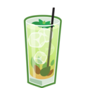 128x128px size png icon of Mojito