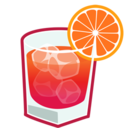 128x128px size png icon of Negroni