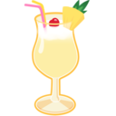 128x128px size png icon of Pina Colada