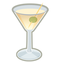 128x128px size png icon of vodka martini