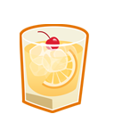 128x128px size png icon of whiskey sour