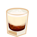 128x128px size png icon of white russian