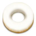 128x128px size png icon of Donut