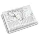 128x128px size png icon of Newspaper