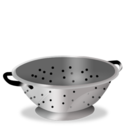 128x128px size png icon of Colander