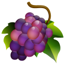 128x128px size png icon of Grapes