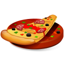 128x128px size png icon of Pizza