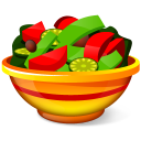 128x128px size png icon of Salad