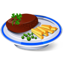 128x128px size png icon of Steak