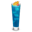 128x128px size png icon of Cocktail Curacao