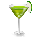 128x128px size png icon of Cocktail Green Agave