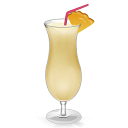 128x128px size png icon of Cocktail Pina Colada