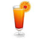 128x128px size png icon of Cocktail Tequila Sunrise