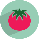 128x128px size png icon of tomato