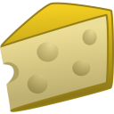 128x128px size png icon of cheese