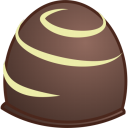 128x128px size png icon of chocolate