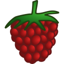 128x128px size png icon of raspberry