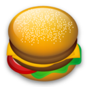 128x128px size png icon of Hamburger