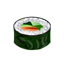 128x128px size png icon of Salada maki