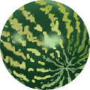 128x128px size png icon of Water melon