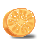 128x128px size png icon of orange