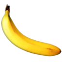 128x128px size png icon of banana