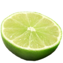 128x128px size png icon of lime