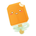 Orange Creamsicle Icon