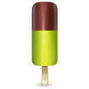 128x128px size png icon of ice cream green