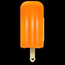 128x128px size png icon of ice cream orange