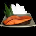 128x128px size png icon of Salmon Teriyaki